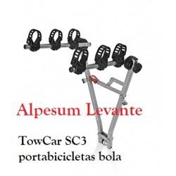 TowCar SC3 portabicicletas bola